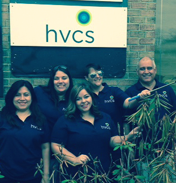 HVCS staff at one of its offices